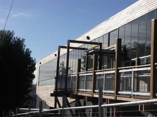 Ballarat University BIPV facade