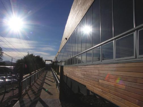 Ballarat University BIPV